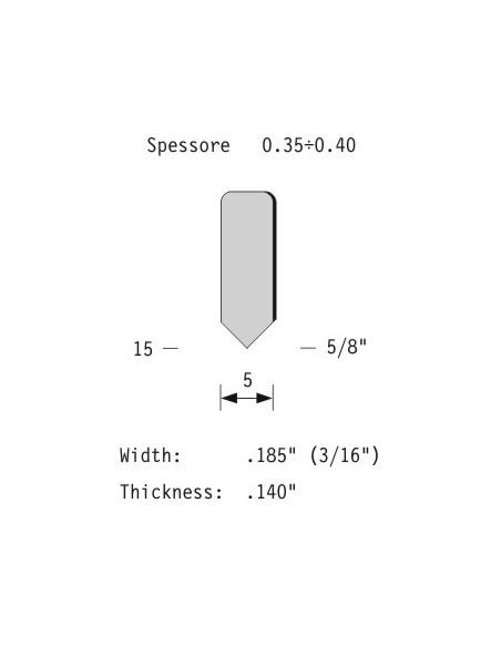 OMER Graffatrice pneumatica per cornici 53.4, Ferramenta