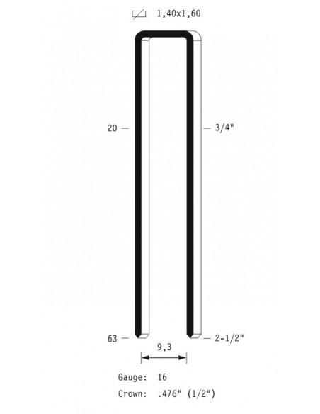 OMER Graffatrice pneumatica S4.50, Ferramenta Montagner