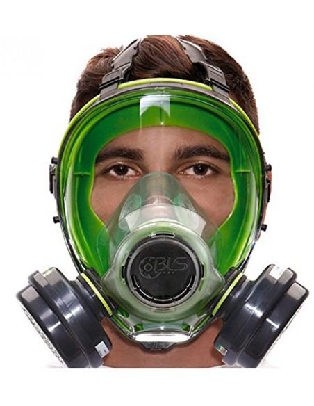 BLS Maschera intera con guarnizione facciale in silicone serie