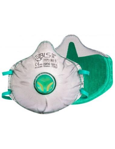 BLS Maschera usa e getta Zer0 30 Retail FFP3 R D in confezione