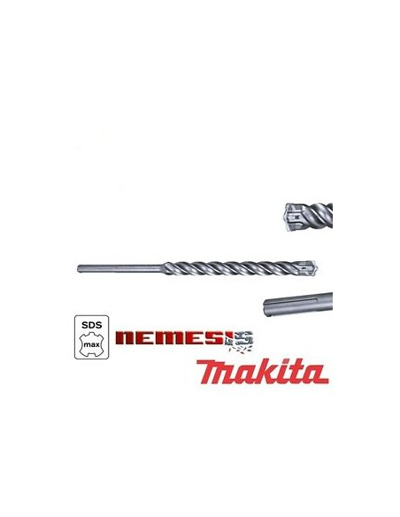 MAKITA Punte attacco SDS-MAX Nemesis per martelli rotativi