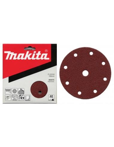 MAKITA Disco abrasivo con velcro 8+1 fori diametro 150 in