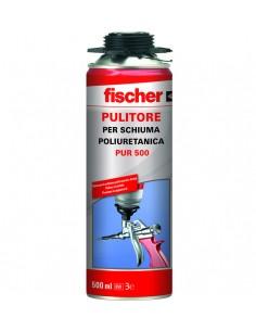 FISCHER Pulitore per schiuma poliuretanica PUR 500, Ferramenta