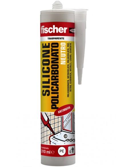 FISCHER Cartuccia silicone policarbonato neutro SNP TR