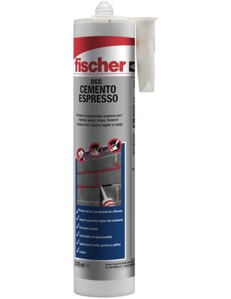 FISCHER Cartuccia cemento espresso DEC, Ferramenta Montagner