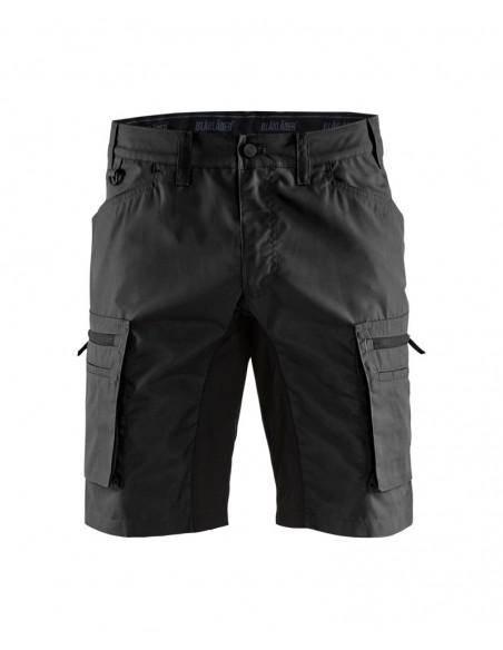 BLAKLADER Pantaloni corti service strecth 1449 1845 9900